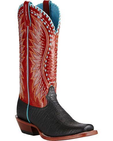 Ariat Women's Black Derby Boots - Square Toe - Country Outfitter