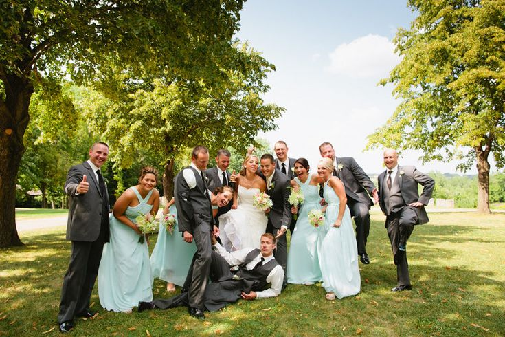 Munger Wedding Photo By Eileen K. Photography #Mint green wedding