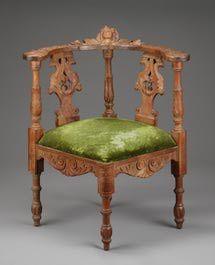 5 Wild and Wonderful Antique Chair Styles: Corner Chair
