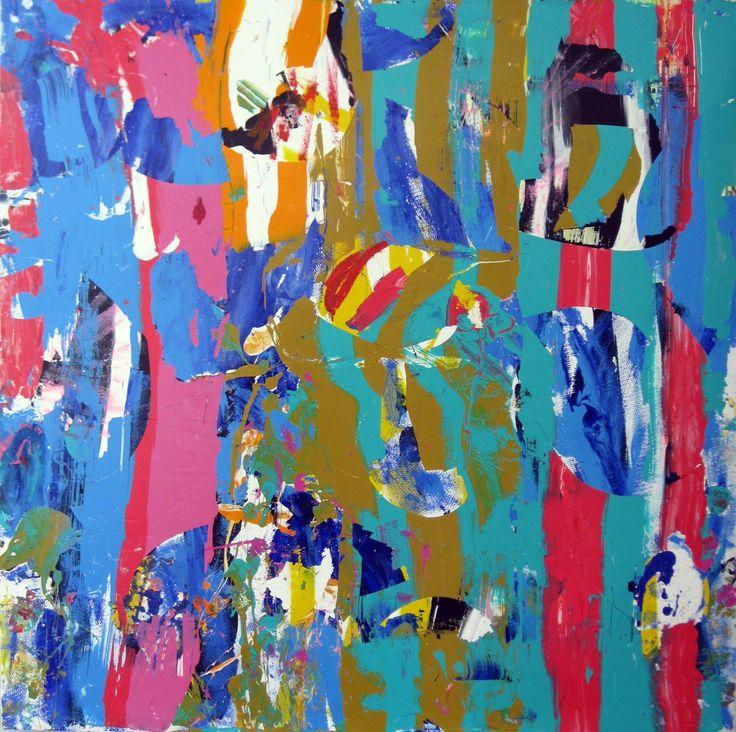 "Saatchi Art Artist: robert tavani; Acrylic 2013 Painting ""L.E.E.K.2"""