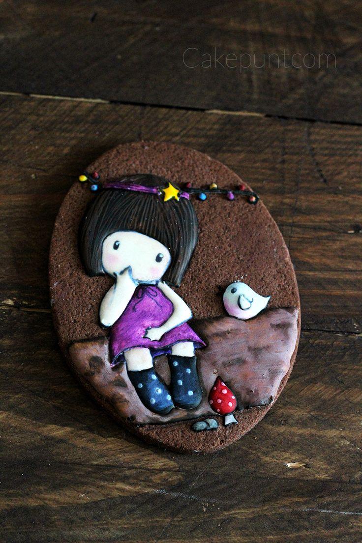 Mi Gorjuss hecha galleta