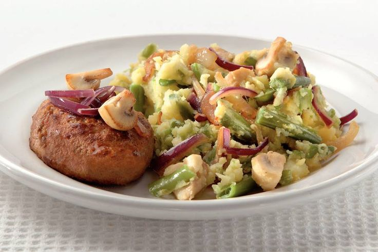Steaktartaar met bonen en champignons - Recept - Allerhande