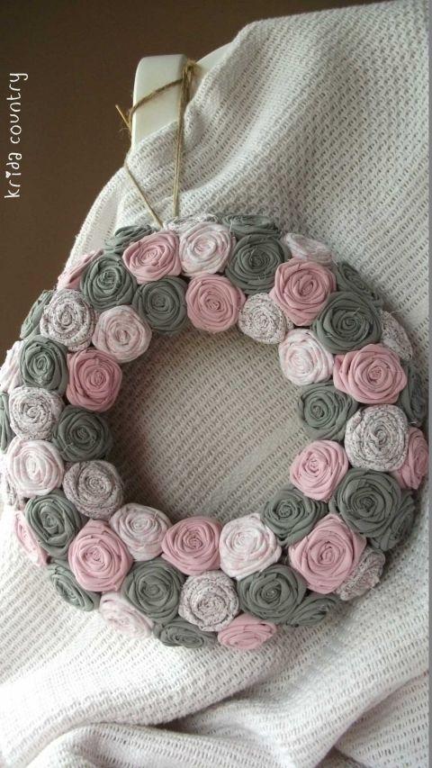 """Rózsakoszorú - """"Színszerelem"""", Baba-mama-gyerek, Otthon, lakberendezés, Dekoráció, Esküvő, Meska"""