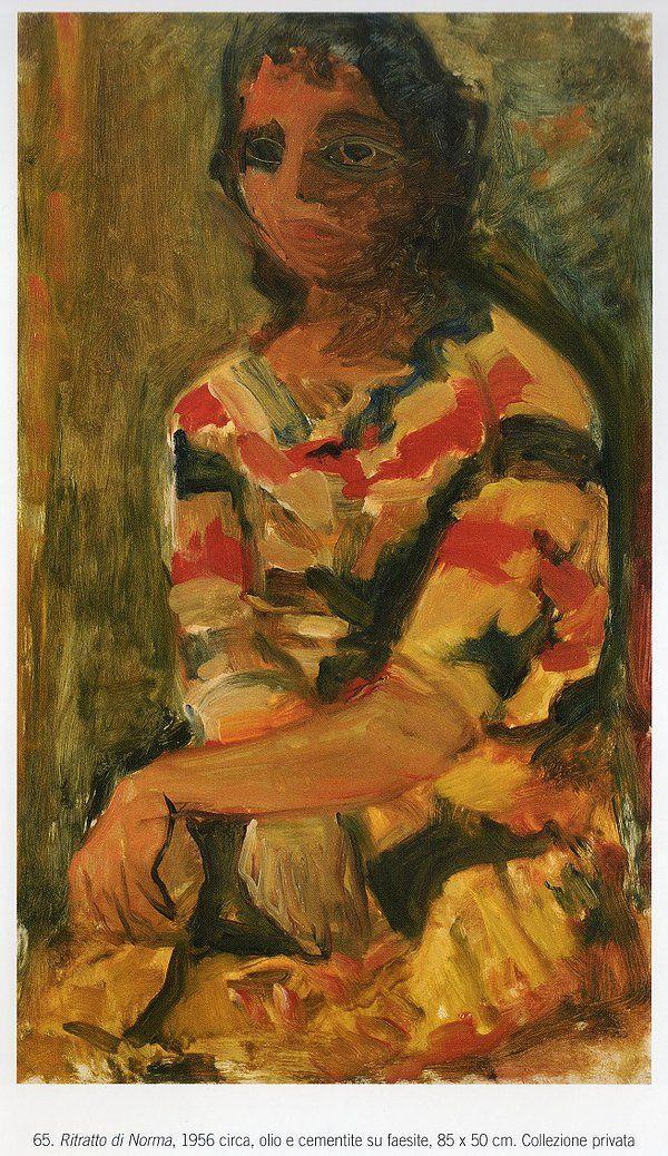 Ugo Castellani - Ritratto di Norma