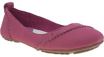 Womens amethyst hush puppies pink janessa flats from Schuh - £52 at ClothingByColour.com