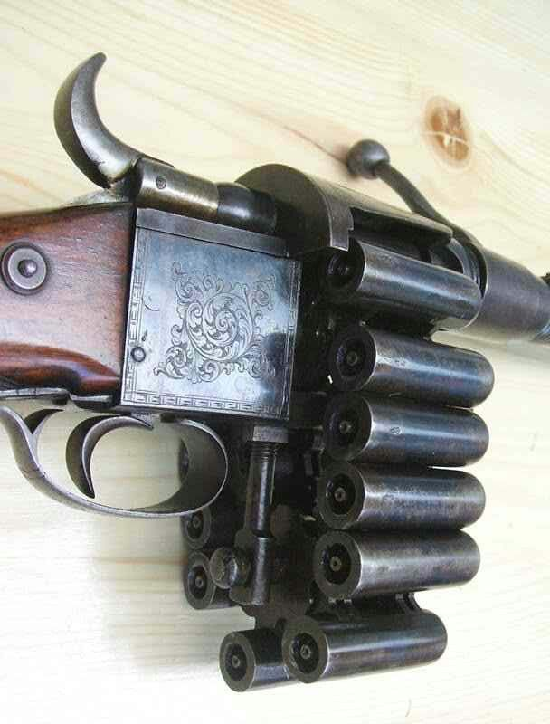 Chain rifle to go with the chain revolver somewhere on my boom. board!