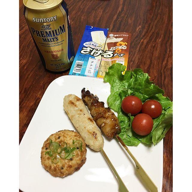 nakatayoshikoおばんです 夫は会合なのでごはんなし 私も遅くなったので、半額お惣菜で夕ご飯 通勤路に最近オープンしたドラッグストアに寄ったらオープンセール!! モルツも安くなってた〜(^^;) #夕ご飯#夕ご飯記録#夜ごはん#晩ごはん#東京#toukyo#dinner#おうちごはん#今日もお疲れ様#japan#food#foodpic#foodphot#cooking#お惣菜#半額#ビール#チーズ#オープンセール#行ってよかった#今日は疲れた#明日は結婚記念日#今年は祝う気にならない