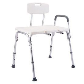 This is our brand new shower chair, which is a perfect helper to offer safe and more comfortable bathing and showering for the users. This shower chair features 10 position height adjustable function, suitable for people of different height. Heavy Duty And Durable Aluminum Frame With A Polyethylene Seat, This Chair Is Able To Withstand […]