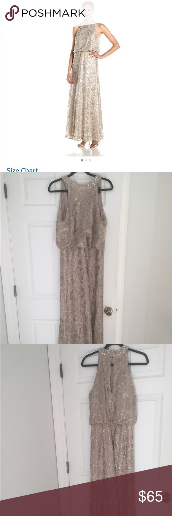 Ignite's Women's Winter Formal Gown Floor length gown. Perfect for Winter Formals, Formal Weddings, Military Balls etc. I've worn it once for a formal wedding for a few hours. Ignite Dresses
