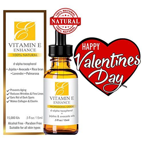 100 All Natural  Organic Vitamin E Oil For Your Face  Skin  15000 IU  Reduces Wrinkles Lightens Dark Spots Heals Stretch Marks  Surgical Scars Best Treatment for Hair Nails Lips After Mask ** You can find out more details at the link of the image.