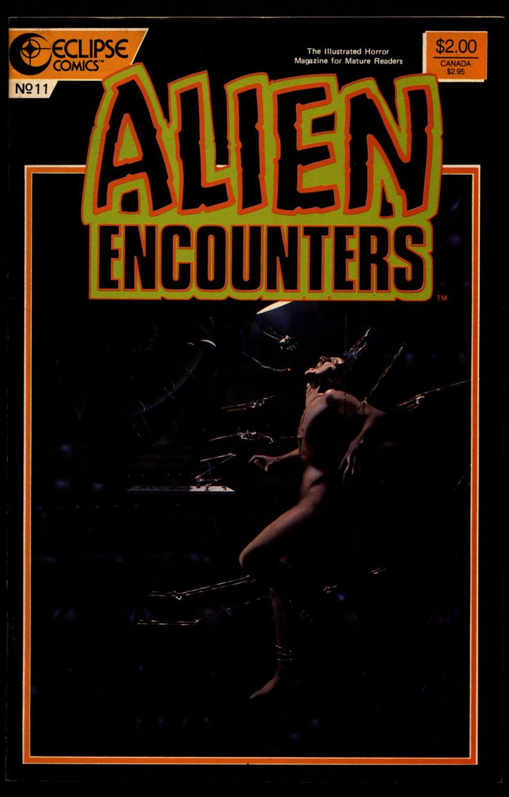 ALIEN ENCOUNTERS #11 Charles Dixon Tim Truman Scott Hampton Peter Ledger Steve Oliff eclipse Comics Science Fiction Horror