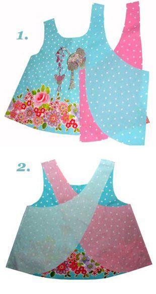 Hängerchen selber nähen. Schürzenkleid CHRISTINA von Mariya Muschard Design. Tolle Baumwollstoffe für ein Hängerchen unter http://www.stoff.love
