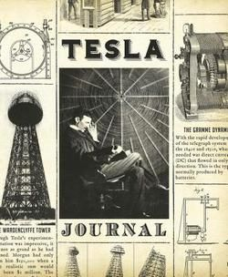 Tesla Journal : Remembering Nikola Tesla by Oxford Publishing Ventures Limited (Bargain - Hardcover): Booksamillion.com: Books