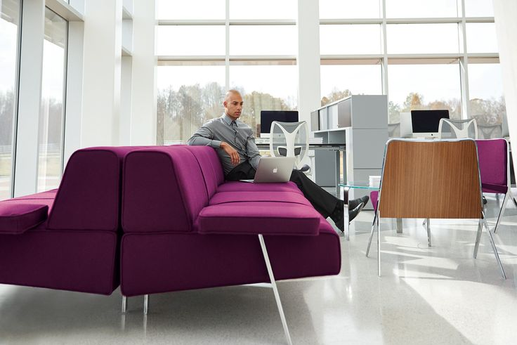Teknion furniture projects a quiet elegance that fits seamlessly with the architectural simplicity of the modern office with its pleasing sense of order and clarity.
