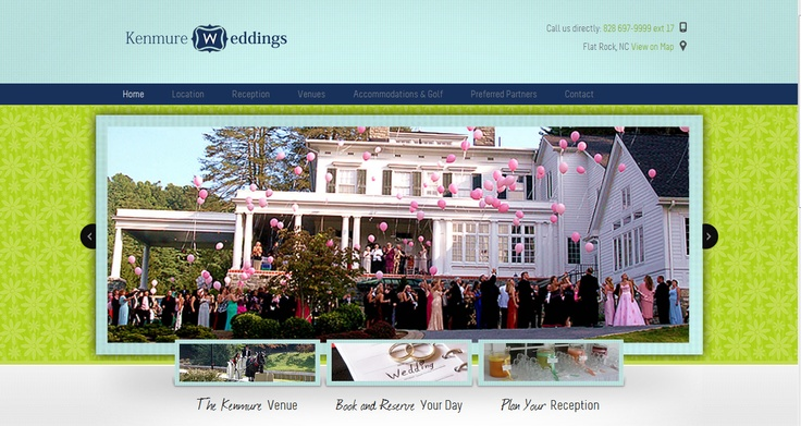 Sister Site to Kenmure.com - this is http://KenmureWeddings.com created by http://trulytwistedmarketing.com