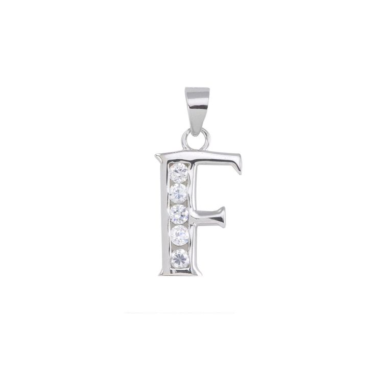 Initial Pendant Alphabet Jewelry CZ Sterling Silver Letters A to Z. If you are looking for a great selection of sterling silver jewelry - at very affordable prices check out www.jewelryland.com. If you like this high quality Initial Necklace please feel free to re-pin, like or leave a comment.