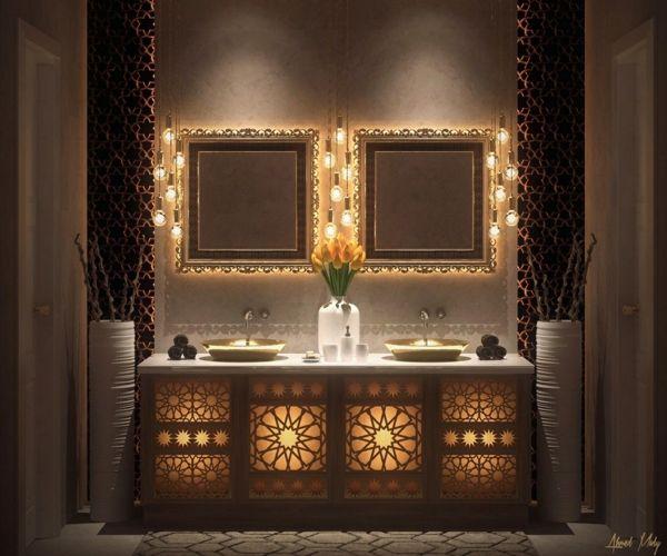 Gut bekannt Les 25 meilleures idées de la catégorie Salle de bains marocaines  HY88