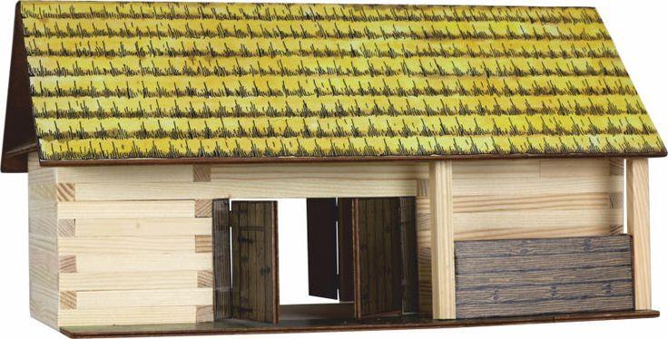 Set de constructie din lemn - Hambar - Walachia. Produs recomandat copiilor cu varsta peste 8 ani. Acceseaza link-ul sau comanda prin email la adresa comenzi@dmkids.ro. Cod produs DMK12531, pret 99,98 lei
