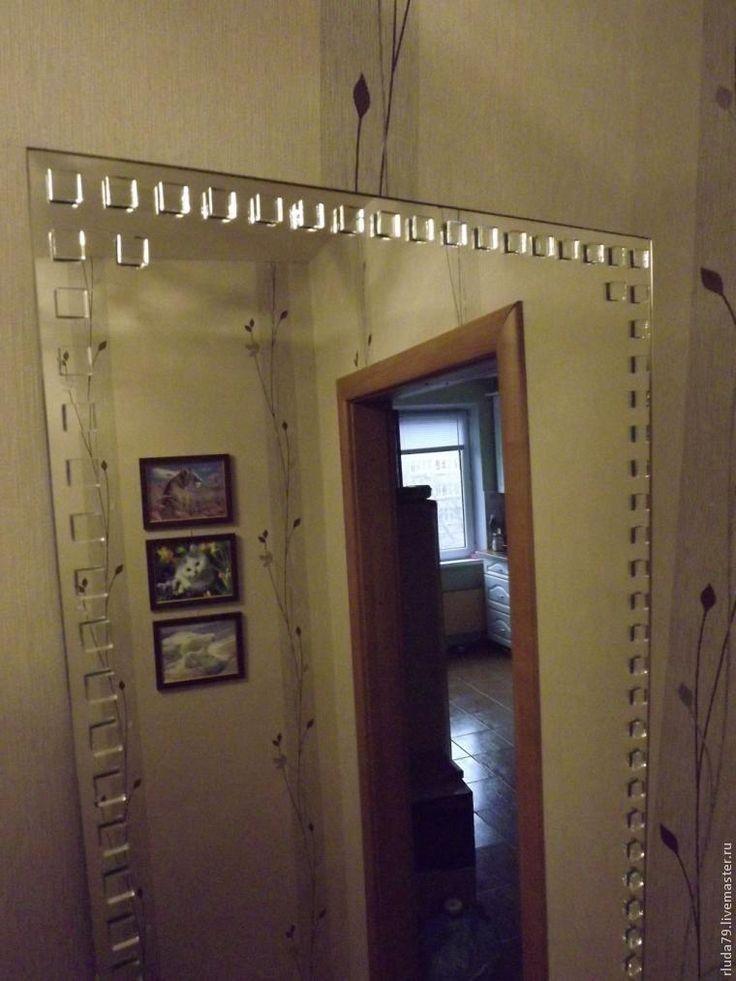 Очень простой способ украсить зеркало - Ярмарка Мастеров - ручная работа, handmade