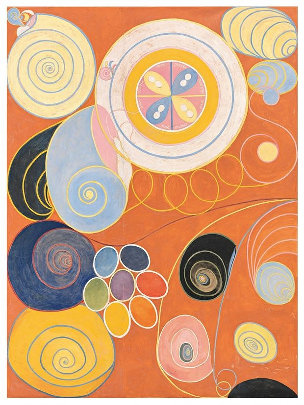'Staggering': The Ten Largest, Youth, 1907. Hilda af Klint