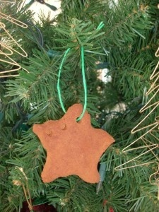 Kids Christmas Craft: Homemade Cinnamon Dough Ornaments from Mommy Savers