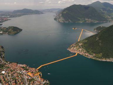The Floating Piers #giruland #christo #lago #iseo #opera #diariodiviaggio #community #raccontare #scoprire #condividere #architetto