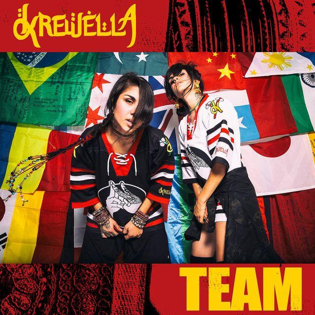 """""""Team"""" by Krewella was added to my Novidades da Semana playlist on Spotify"""