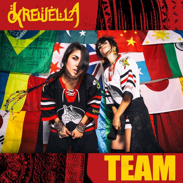 """Team"" by Krewella was added to my Novidades da Semana playlist on Spotify"