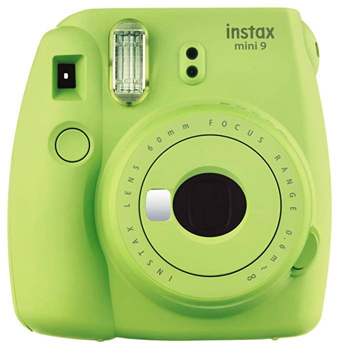 Amazon Com Fujifilm Instax Mini 9 Instant Camera Lime Green