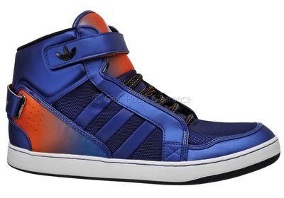 New Adidas Originals Adi-Rise AR 3.0 Mens Shoes Sneakers - Blue / Orange / Black