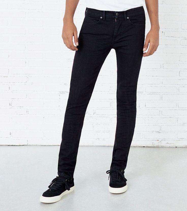 Jeans denim skinny (preto): SPRINGFIELD (15,99€)