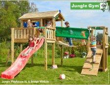 Jungle Playhouse XL & Bridge Module