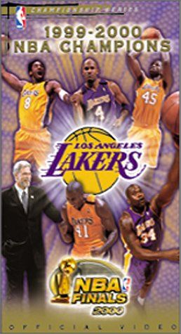 NBA Finals 2000 Los Angeles Lakers Championship Video [VHS] - http://weheartlakers.com/lakers-store/nba-finals-2000-los-angeles-lakers-championship-video-vhs