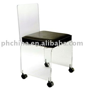 vanity chair on wheels. Sf 77 Morden Acrylic Chair With Wheesl Luxury Top Grade  Cushion Small Vanity Stool Wheels Buy Clear Best 25 with wheels ideas on Pinterest DIY wrapping