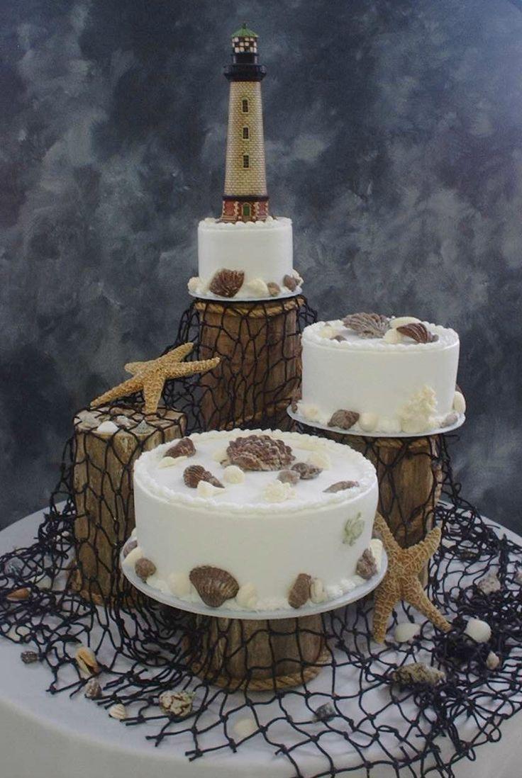 Lighthouse Cake Ideas