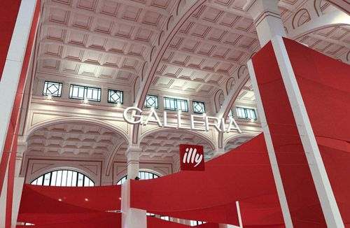 Galleria illy Trieste on Behance