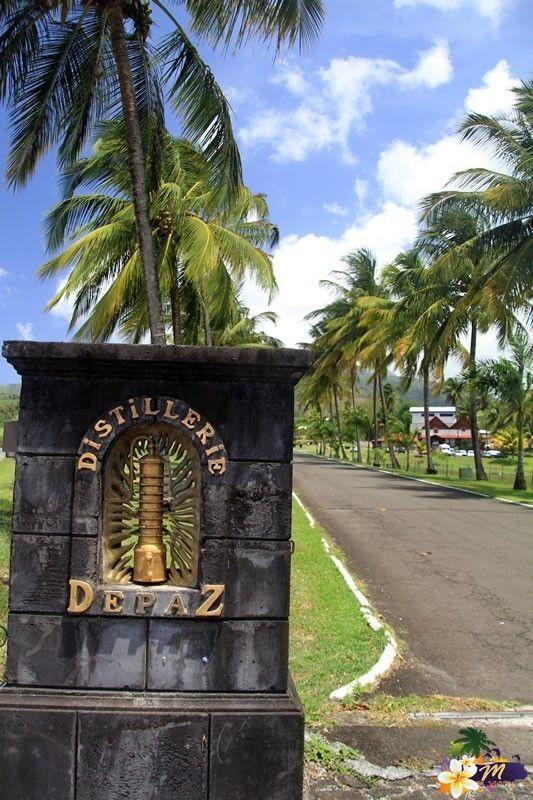 #Martinique   Route du Rhum   Distillerie et Chateau Depaz © AliZéMédia
