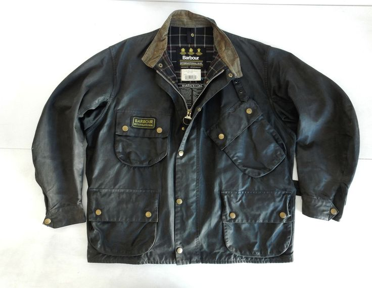 Barbour International  A7 Vintage Jacket Giacca FOR SALE • EUR 130,00 • See Photos! Money Back Guarantee. TAGLIA SIZE C 48 / 122cm PETTO CHEST 68 SPALLE ARM TO ARM 54 LUNGHEZZA LENGHT 78 182391884919