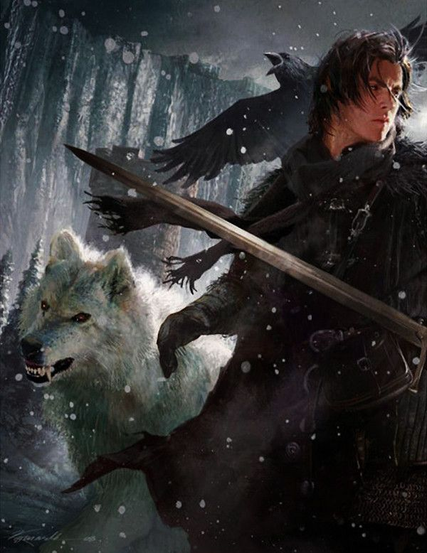 Jon Snow by Michael Komarck #got #gameofthrones #fanart