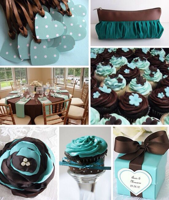 Teal Wedding Ideas For Reception: 22 Best Weddings: Teal & Brown Images On Pinterest