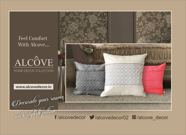 Alcôve Decor Cushions Collection #cushions #alcove #decor #homedecor