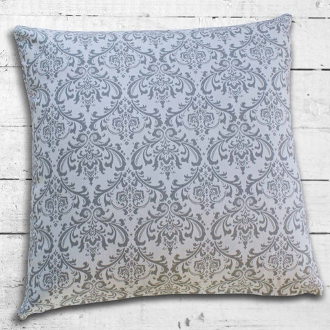 Cushions from Cushionopoly - Lustre Gris cushion cover.