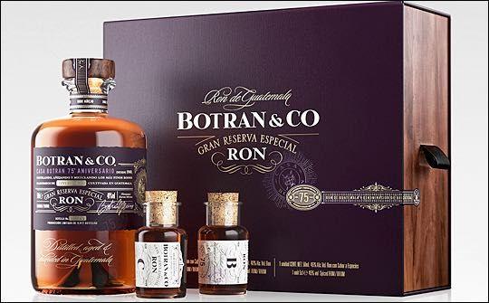 Appartement 103 design Botran anniversary rum