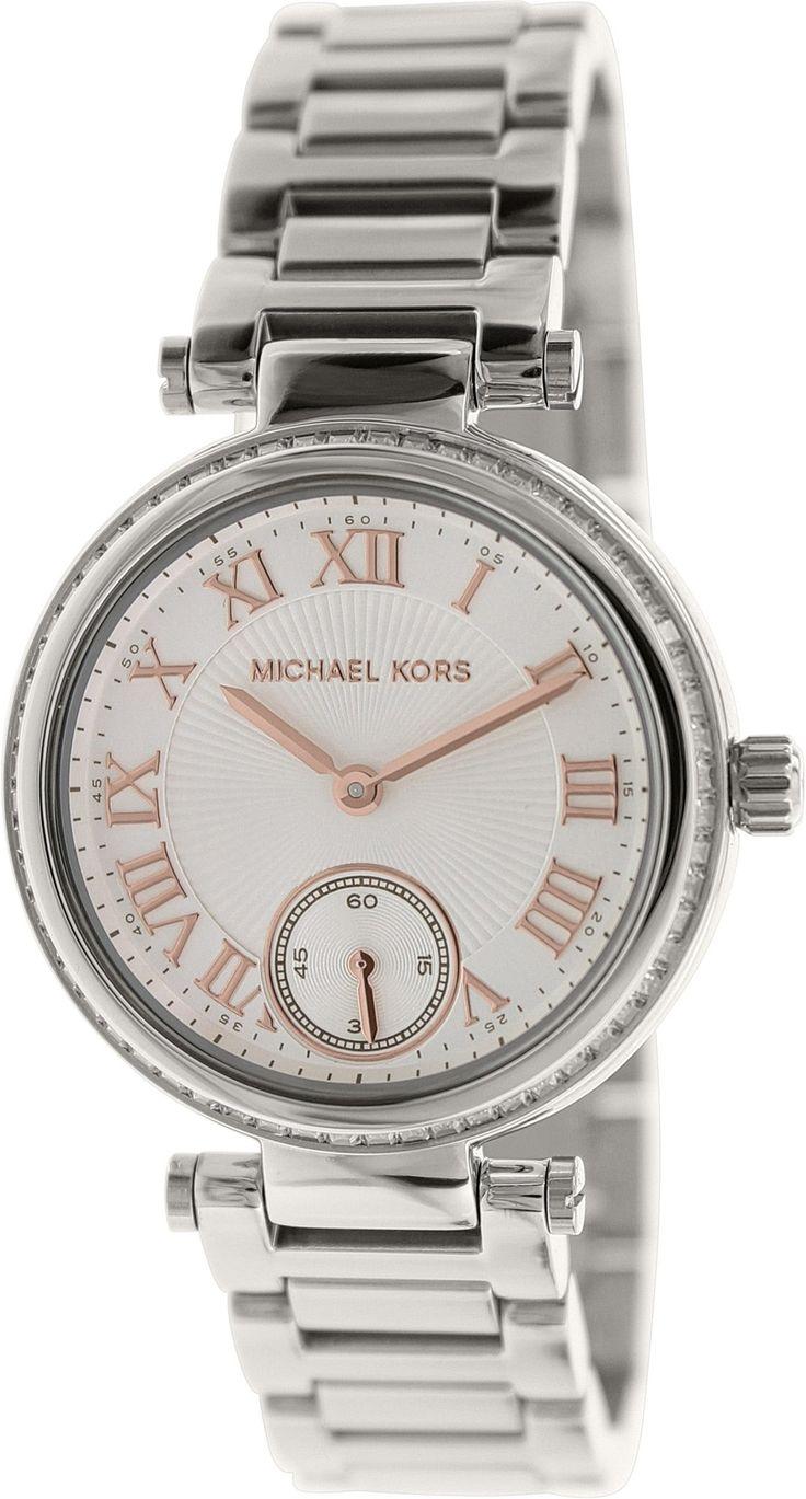 MK5970 Michael Kors Mini Skylar Ladies Watch - White Dial