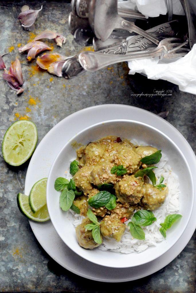 Kulinarne podróże: W deszczowe dni lubię… I pikantne klopsiki w indyjskim stylu.