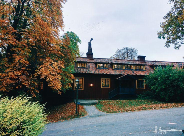 Maison typique à Skansen