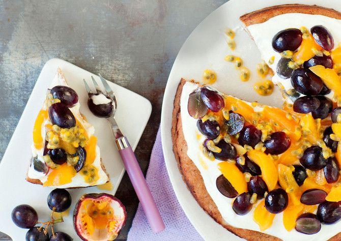 Sokeriton ja gluteeniton hedelmätorttu