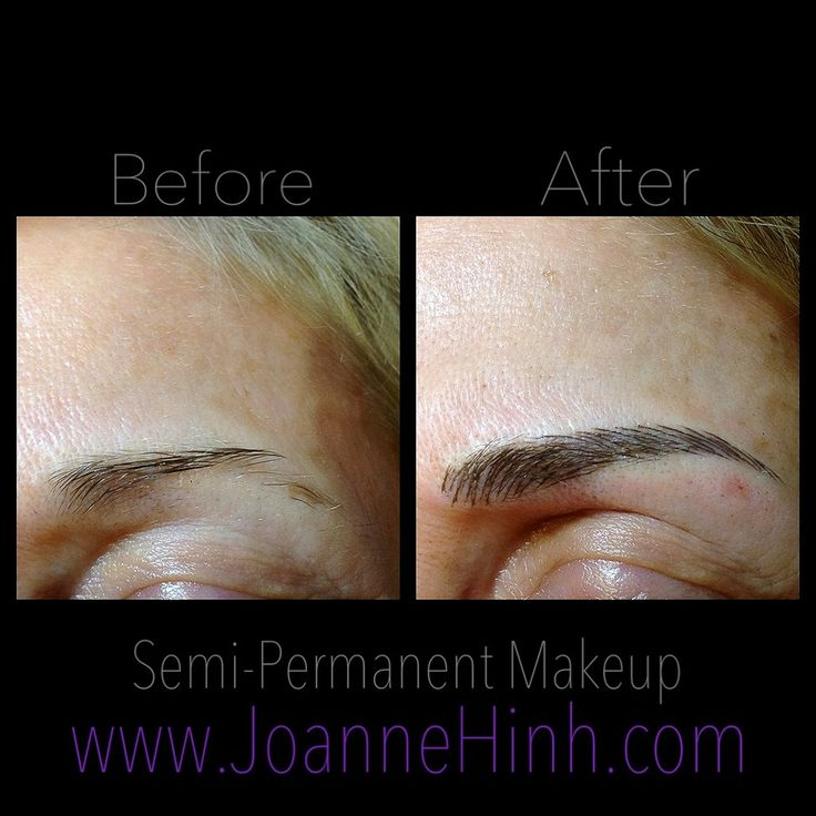 17 best images about permanent makeup on pinterest the for Cosmetic eyebrow tattoo