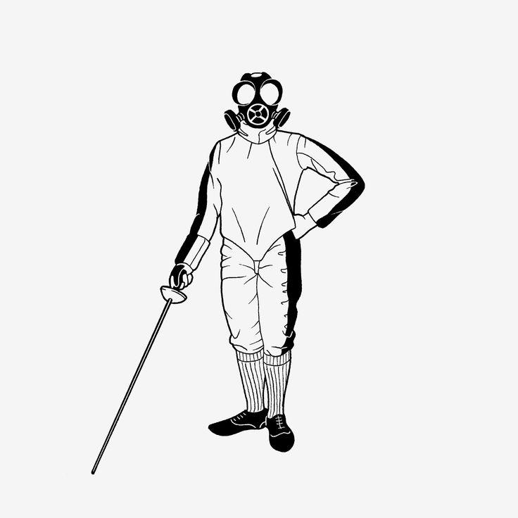Fencing mask