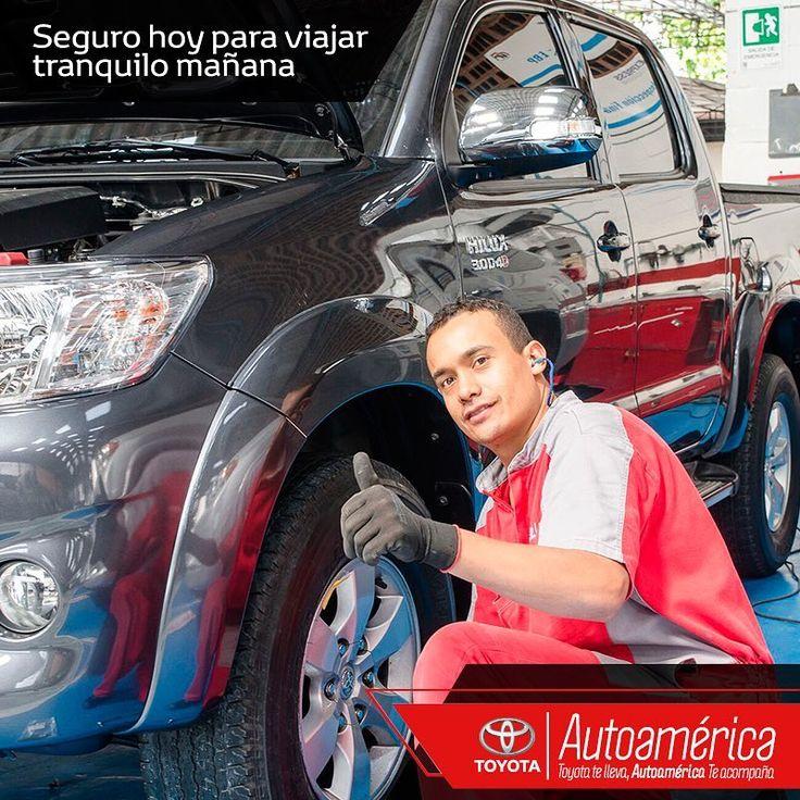 Si vas de viaje estas vacaciones, protege tu seguridad y la de tu familia. Trae tu #Toyota a nuestro servicio de #MantenimientoExpress #Autoamérica para que tengas un camino tranquilo.    #ToyotaEsToyota #Autoamérica #ToyotaColombia #Toyotero #Toyotalover #OffRoad #TeamToyota #ToyotaNation #Toyoteros #4x4 #Toyota #MantenimientoExpress #quickrepair #RepuestosGenuinosAutoamérica #ARB #ARBColombia #Solucar #OldManEmu #AeroKlas #MileMarker #HinoColombia #Hino #HinoToyota #HinoAutoamérica